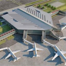 Олон улсын шинэ нисэх онгоцны буудлын угсралтын ажил